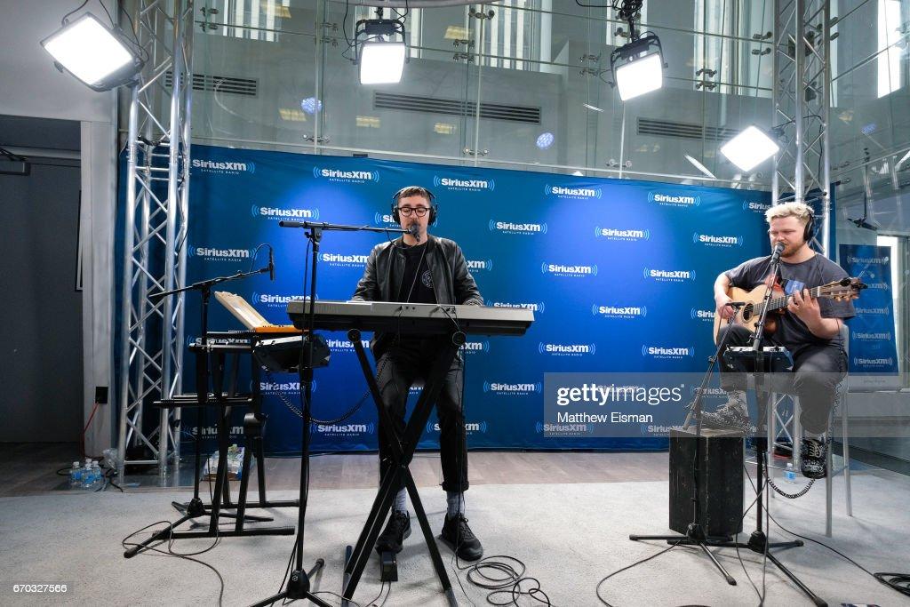 Celebrities Visit SiriusXM - April 19, 2017