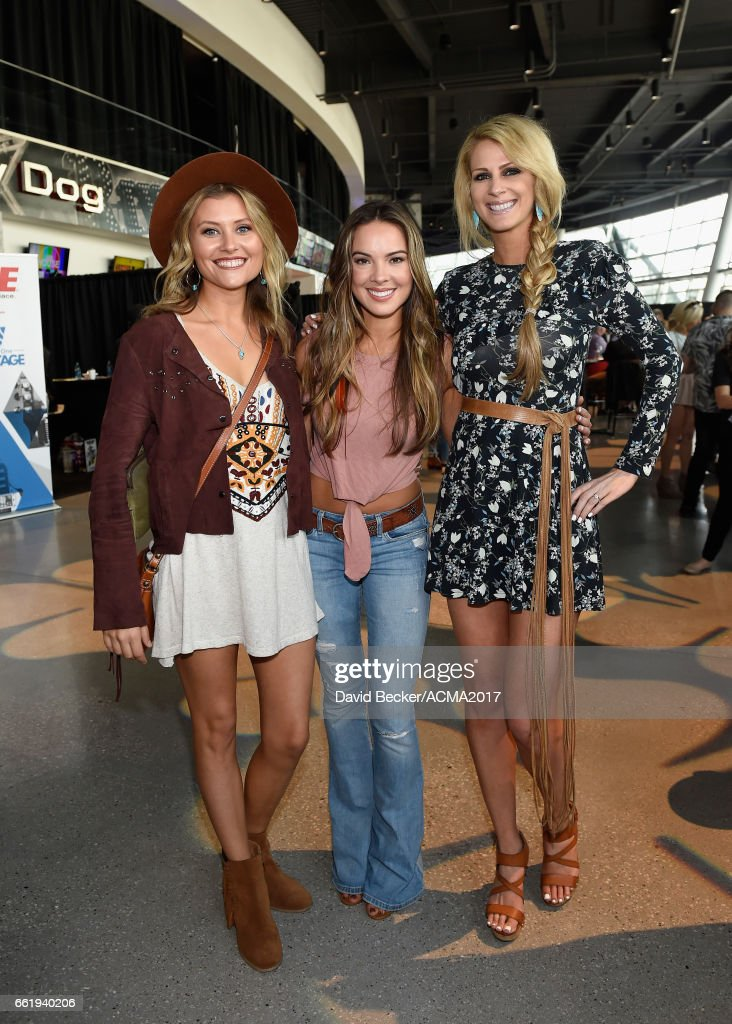Musicians Hannah Mulholland, Naomi Cooke and Jennifer Wayne of Runaway June attend the 52nd Academy Of Country Music Awards Cumulus/Westwood One Radio Remotes at T-Mobile Arena on March 31, 2017 in Las Vegas, Nevada.