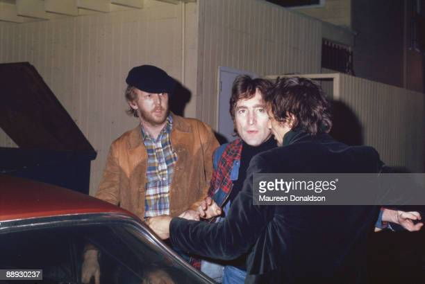 Musicians Harry Nilsson and John Lennon are thrown out of the Troubadour club in West Hollywood, California, for heckling a performance by the...