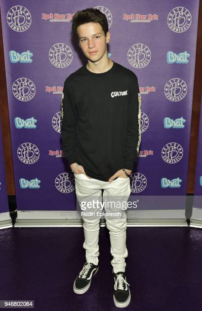 Musicians Hayden Summerall attends his 13th Birthday Bash at Bardot on April 15 2018 in Hollywood California