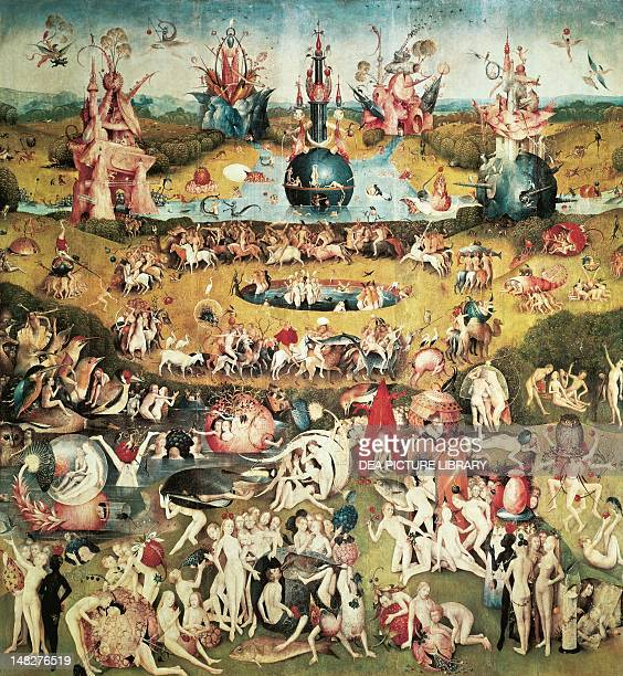 Musicians' Hell detail from the Garden of Earthly Delights by Hieronymus Bosch Madrid Museo Del Prado