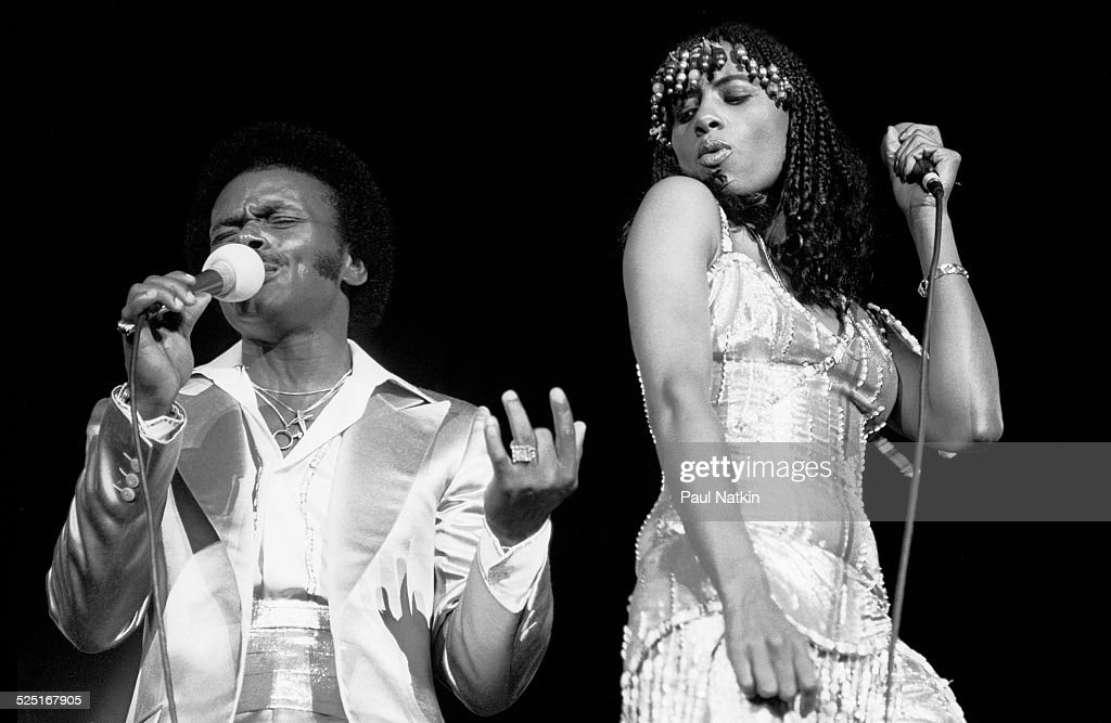 Peaches & Herb On Stage : News Photo