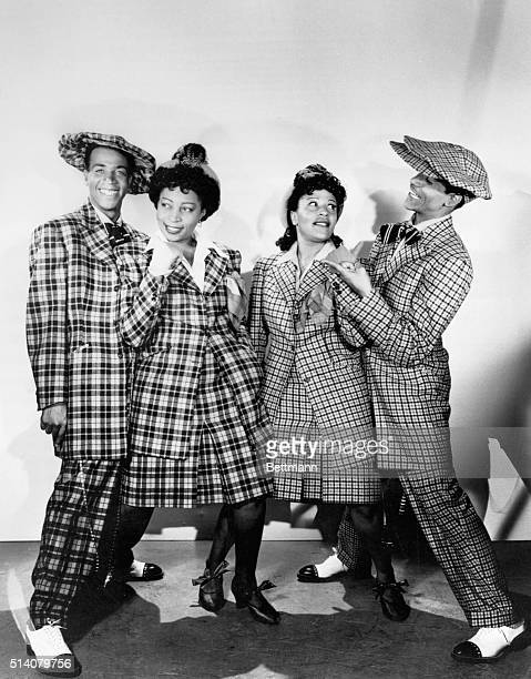 Musicians in Zoot Suits for Hit Parade of 1943