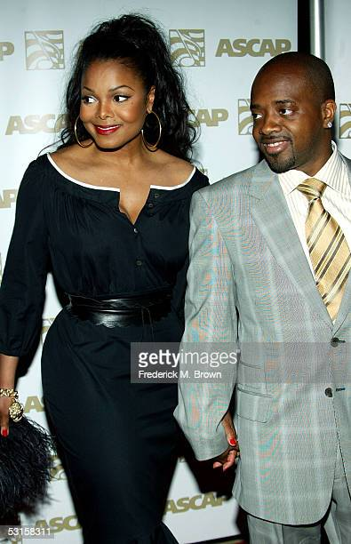 Musicians Janet Jackson and Jermaine Dupri arrive to ASCAP's 18th Annual Rhythm and Soul Music Awards Gala at the Beverly Hills Hilton on June 27...