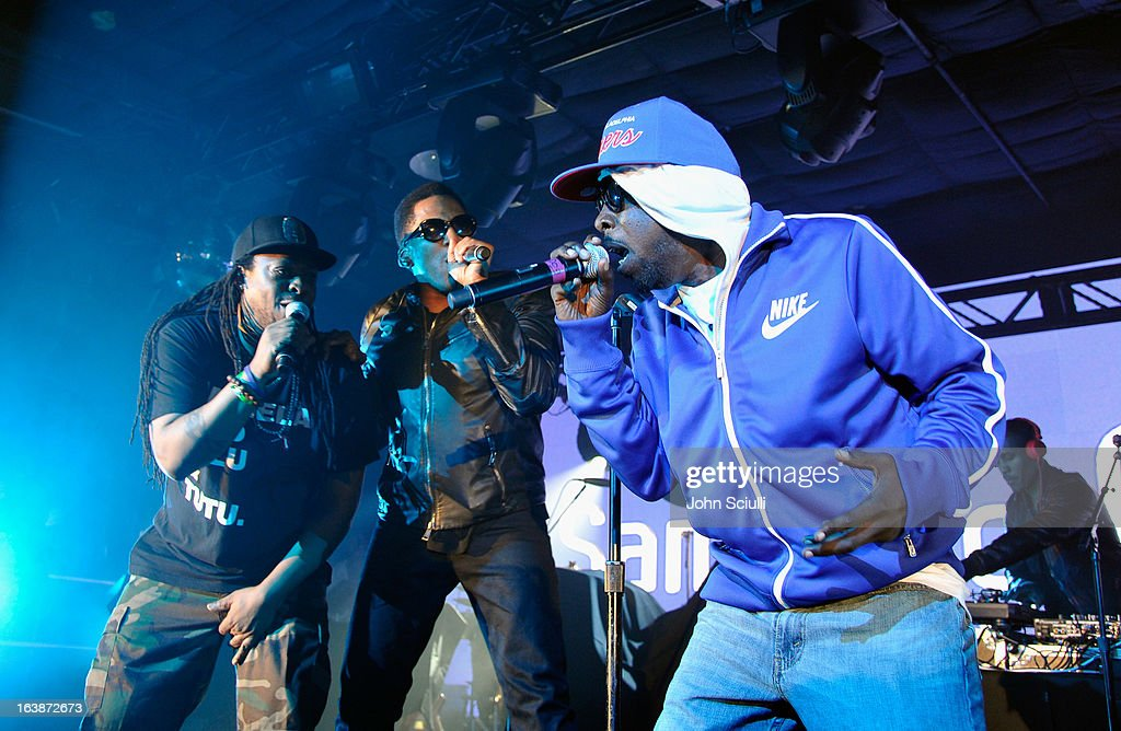 Samsung Galaxy Presents Prince And A Tribe Called Quest At SXSW : News Photo