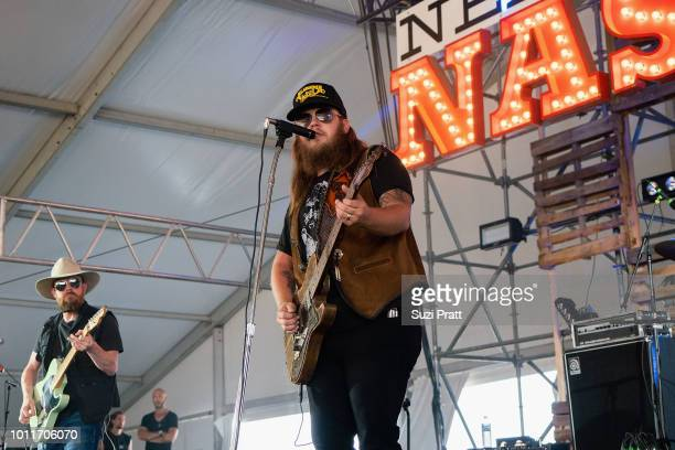 Musicians Jason Cope and Wes Bayliss of The Steel Woods perform at Watershed Festival at Gorge Amphitheatre on August 5 2018 in George Washington