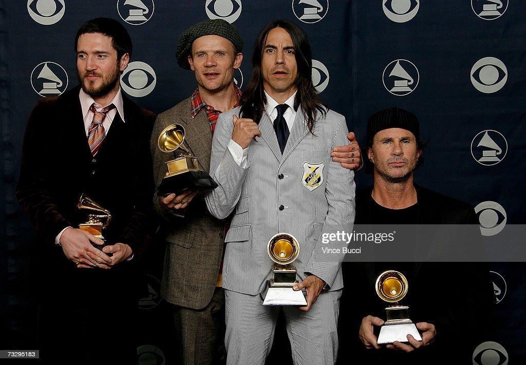 49th Annual Grammy Awards - Press Room : News Photo