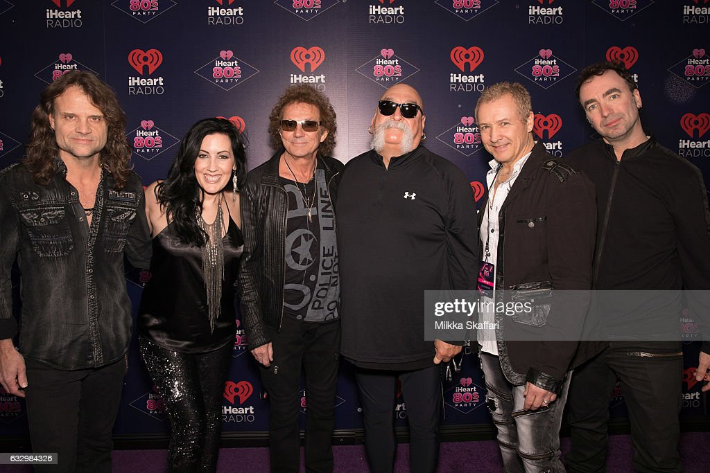 Musicians John Roth, Stephanie Calvert, Mickey Thomas