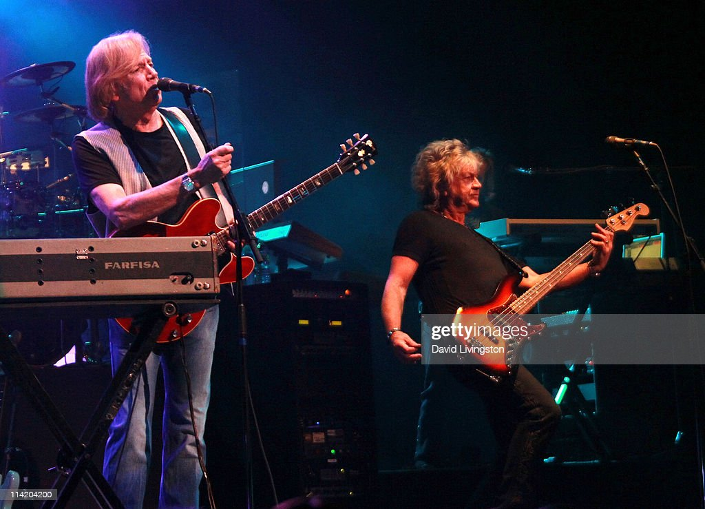 Musicians Justin Hayward And John Lodge Of The Moody Blues Perform On News Photo Getty Images