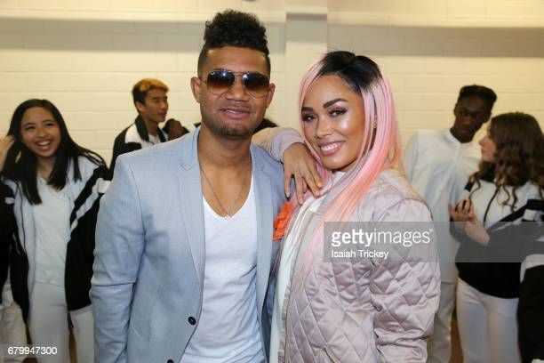 Musicians K'Coneil and Kreesha Turner attend the 2017 Cut Hip Hop Awards at Queen Elizabeth Theatre on May 6 2017 in Toronto Canada