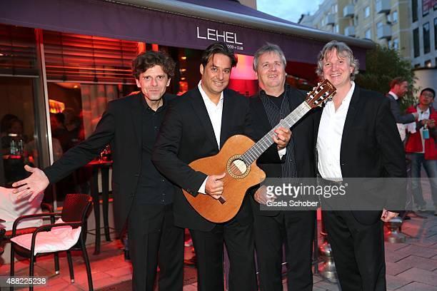 Musicians Konstantin Wienstroer, Andre Krengel, Joerg Siebenhaar, Gregor Salz during the Showcase & Record Release 'Andre Krengel Acoustic Embassy'...