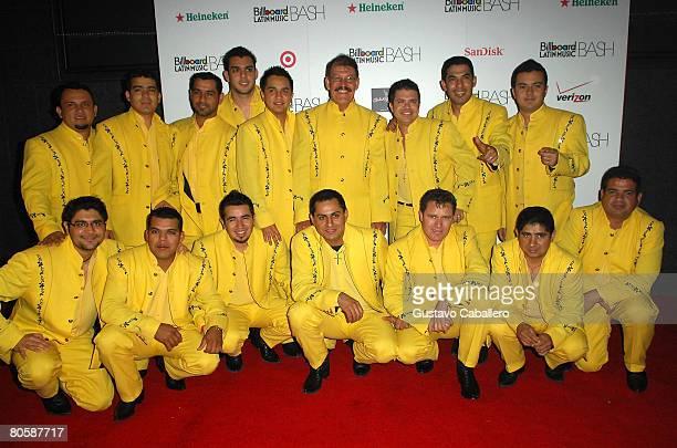 Musicians La Arrolladora Banda El Limon attend the 6th Annual Billboard Bash hosted by Carlo Rossi during the 2008 Billboard Latin Music Conference...