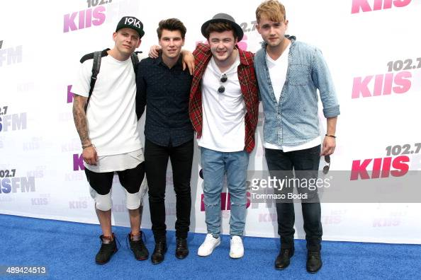 Musicians Lewi Morgan, Charley Bagnall, Jake Roche and ...
