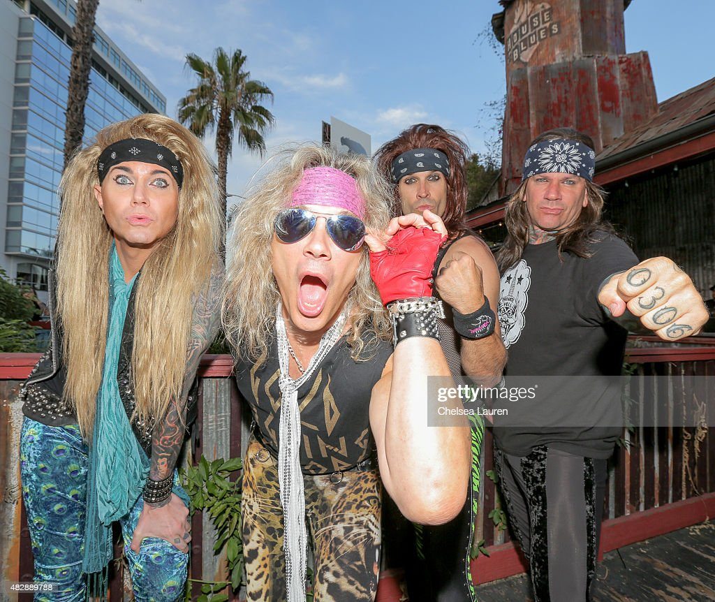 Steel Panther Performs At House Of Blues Sunset Strip Final Farewell Show