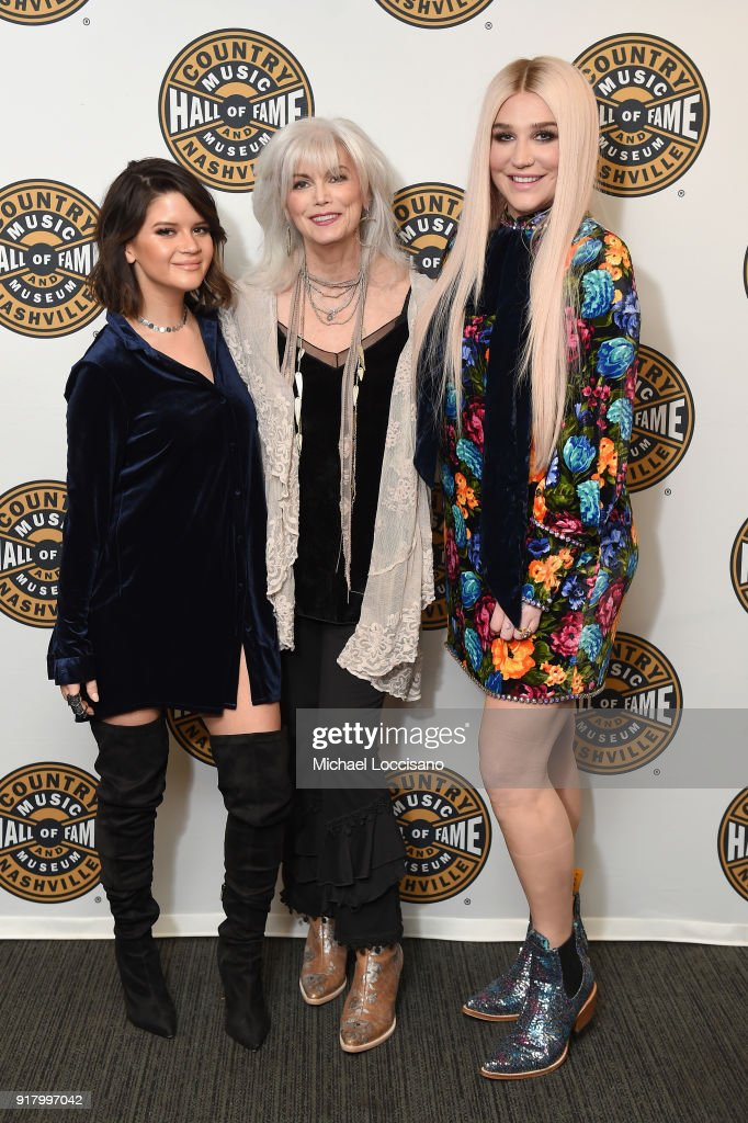 Country Music Hall Of Fame And Museum Hosts All For The Hall New York Benefit Concert Featuring Vince Gill, Emmylou Harris, Kesha And Maren Morris