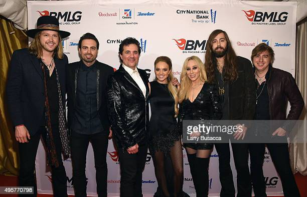 Musicians Michael Hobby Zach Brown President and CEO of the Big Machine Label Group Scott Borchetta Musician Danielle Bradbery Senior Vice President...