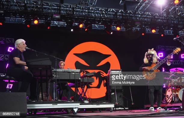 Musicians Michael McDonald and Thundercat perform at the Mojave Tent during day 2 of the Coachella Valley Music And Arts Festival at the Empire Polo...