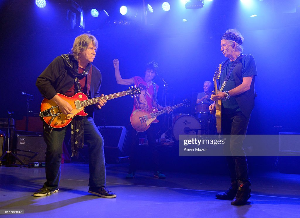 Rolling Stones Surprise Club Gig : News Photo