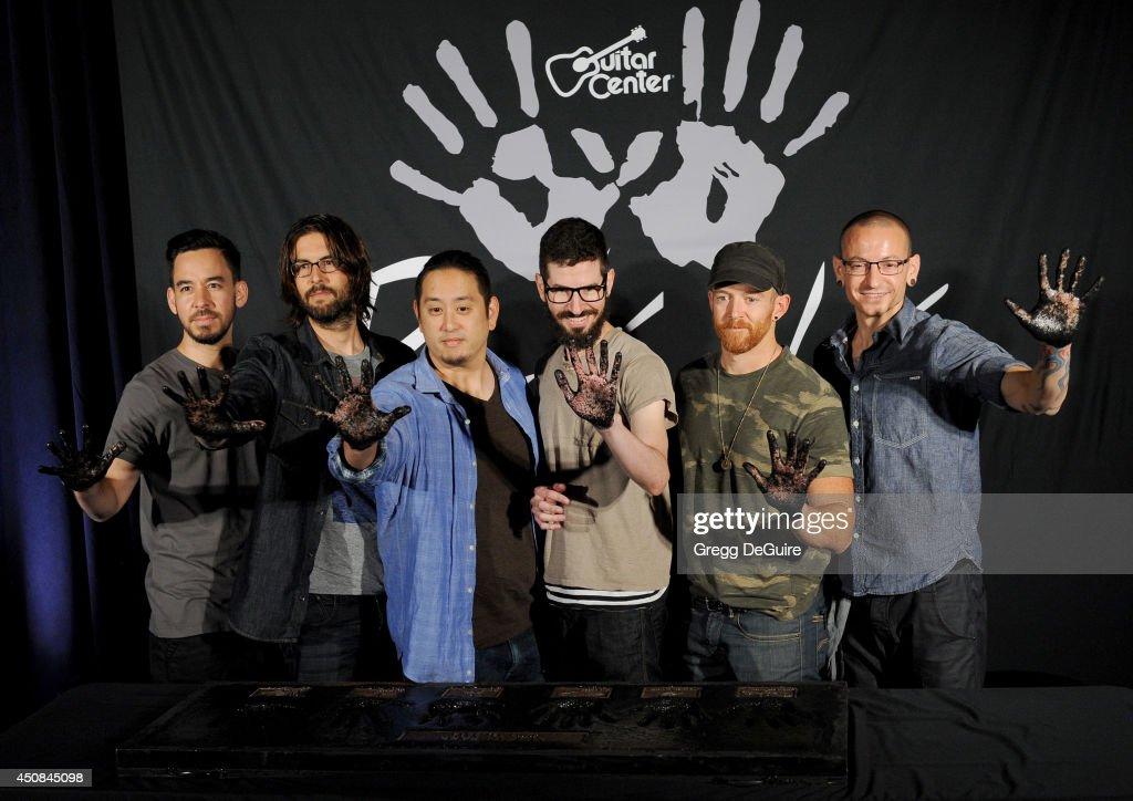Linkin Park Gets Inducted Into Guitar Center's Historic RockWalk