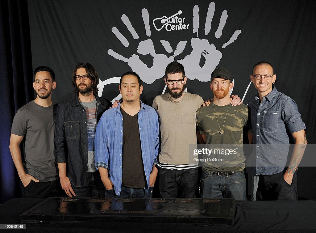 Linkin Park Gets Inducted Into Guitar Center's Historic RockWalk