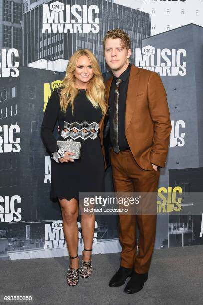 Musicians Miranda Lambert and Anderson East attend the 2017 CMT Music Awards at the Music City Center on June 7 2017 in Nashville Tennessee