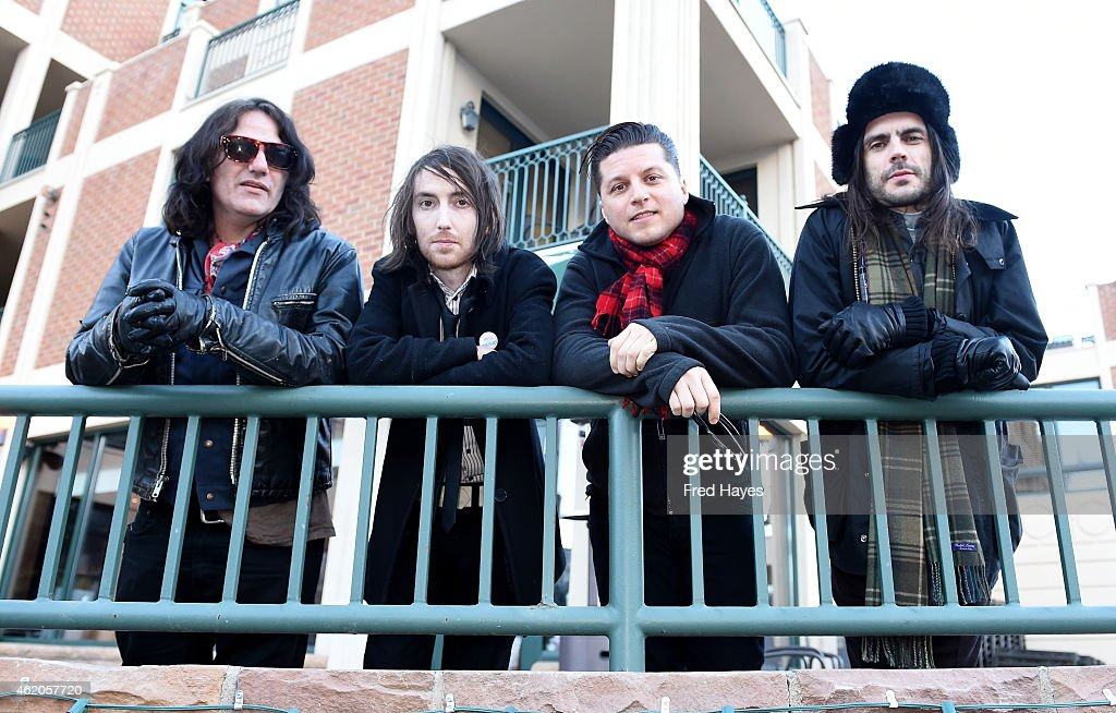 musicians nate shaw jon larue anthony burulicich and brian bell of the band - Blue Cafe 2015