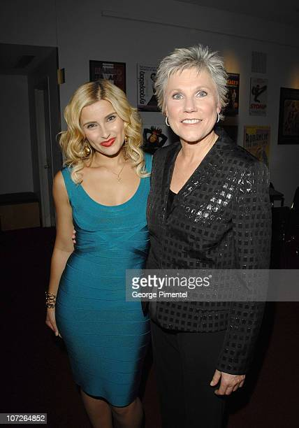 """Musicians, Nelly Furtado and Anne Murray perform at The 6th Annual """"It's Always Something"""" Variety Show in Support of the Gilda's Club at the Elgin..."""