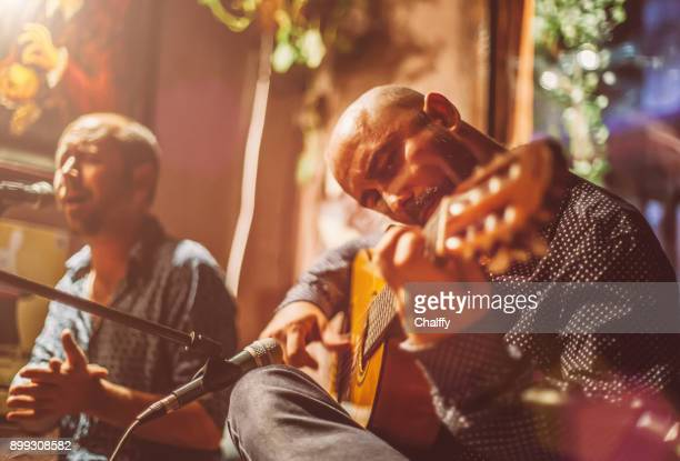 musicians on a stage - spanish culture stock pictures, royalty-free photos & images