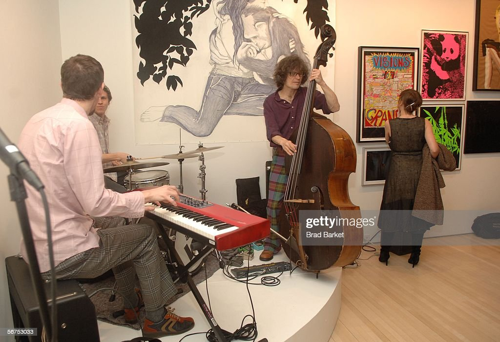 Musicians perform at the Edun Fall 2006 Presentation during Olympus Fashion Week February 5, 2006 in New York City.