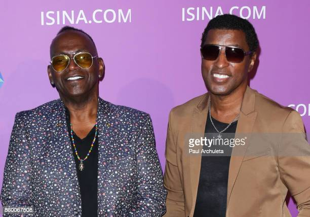 Musicians Randy Jackson and Kenny 'Babyface' Edmonds attend the ISINA Global Gala at Unici Casa on October 10 2017 in Culver City California