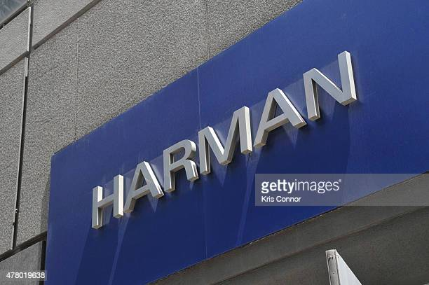 Musicians record music at a pop up recording studio outside of The HARMAN Store during Make Music Day 2015 on June 21 2015 in New York City