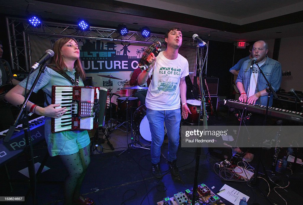 Musicians Sarah Hayes And Louis Abbott Of The Band Admiral Fallow News Photo Getty Images