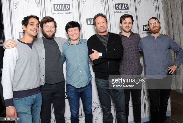 Musicians Sebastian Modak Keenan O'Meara Colin Lee David Duchovny Mitch Stewart and Pat McCusker visit Build Sesries to discuss the album 'Every...