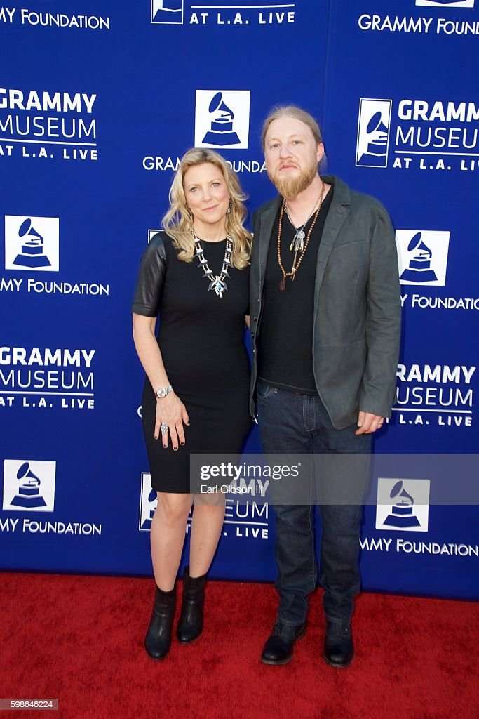 Musicians Susan Tedeschi (L) and Derek Trucks attend the GRAMMY Foundation's 'Icon: The Life And Legacy Of B.B. King at Wallis Annenberg Center for the Performing Arts on September 1, 2016 in Beverly Hills, California.