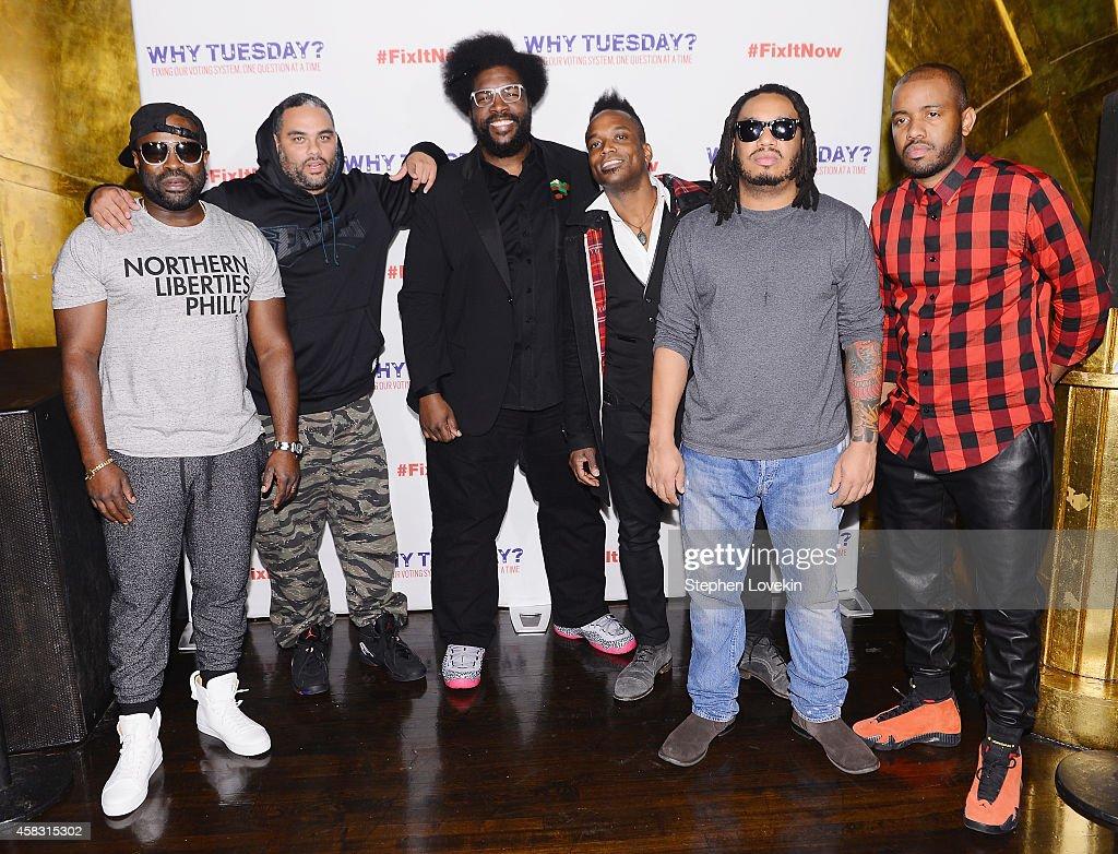 The Roots 'Lets Fix It' Concert : News Photo