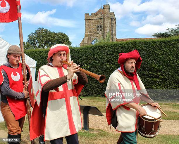 Musicians to entertain battle troops at the Battle of Hastings 1066 Reenactment in August 2014