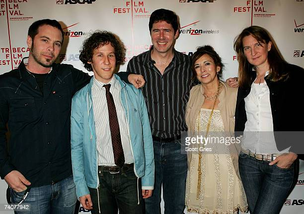 Musicians Tom Dasvia Ben Lee John Alasia Loretta Munoz and Annie Lahey attend the ASCAP / Tribeca Music Lounge at the 2007 Tribeca Film Festival on...