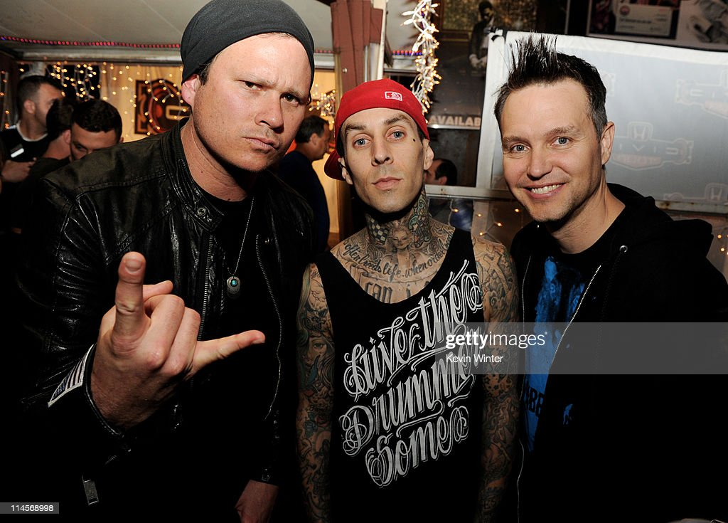 blink-182 & My Chemical Romance: The 2011 Honda Civic Tour Announcement Event : News Photo
