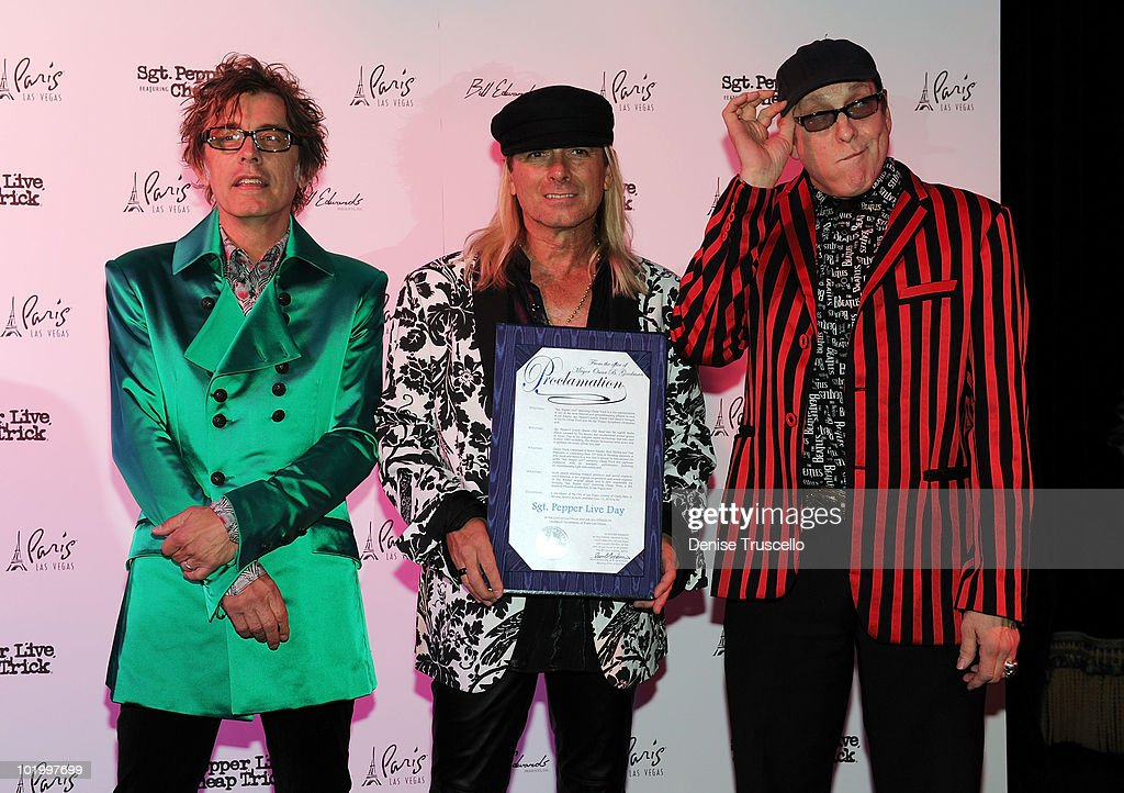 "The Mayor Is Going To Proclaim It ""Sgt Pepper Live"" Day With Cheap Trick"