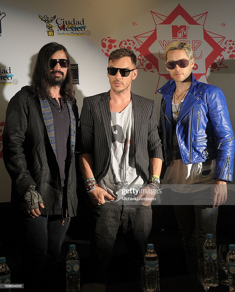 2010 MTV World Stages Mexico - Press Conference