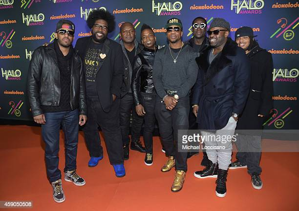 Musicians Tuba Gooding Jr Questlove James Poyser 'Captain' Kirk Douglas Tariq 'Black Thought' Trotter Frank Knuckles Ray Angry and Mark Kelley of The...