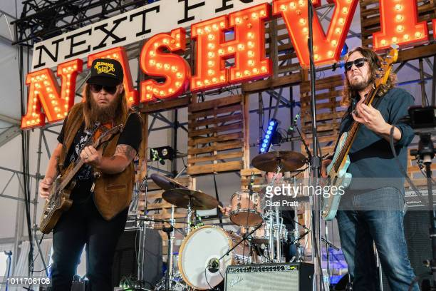 Musicians Wes Bayliss and Johnny Stanton of The Steel Woods perform at Watershed Festival at Gorge Amphitheatre on August 5 2018 in George Washington