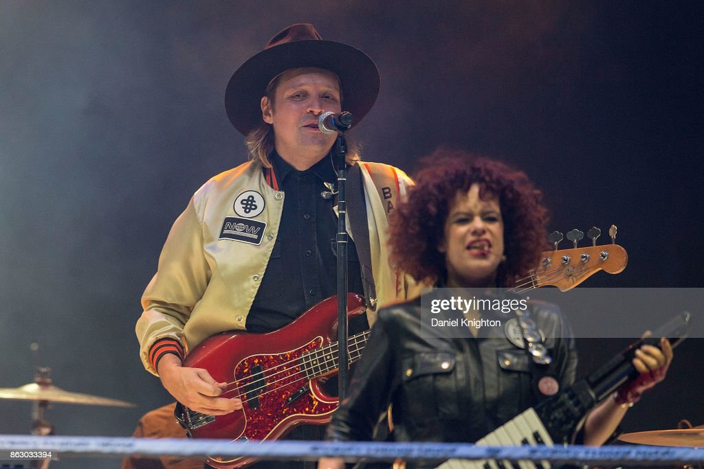 Arcade Fire Performs At Viejas Arena