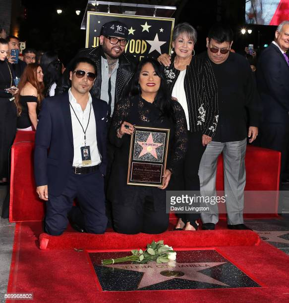 Musician/Selena's widower Chris Perez musician/Selena's brother AB Quintanilla III Selena's sister Suzette Quintanilla and Selena's mother and father...