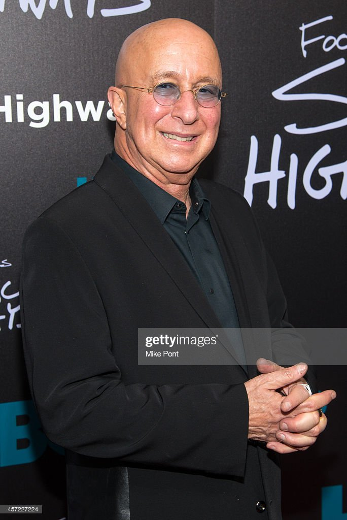 Musician/TV personality Paul Shaffer attends the 'Foo Fighters: Sonic Highways' New York Premiere at Ed Sullivan Theater on October 14, 2014 in New York City.