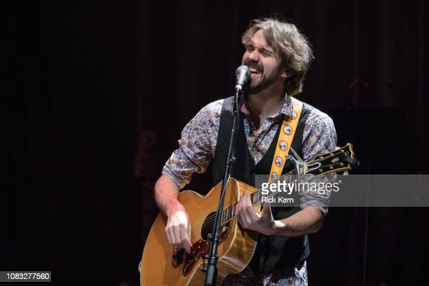 Musician/vocalist Ben Jones of Beat Root Revival performs in concert at ACL Live on December 15 2018 in Austin Texas