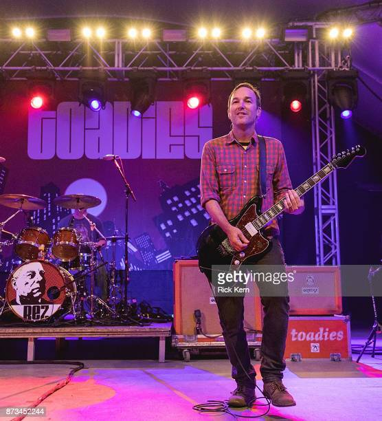 Musician/vocalist Clark Vogeler of the Toadies performs in concert at Stubb's BarBQ on November 10 2017 in Austin Texas