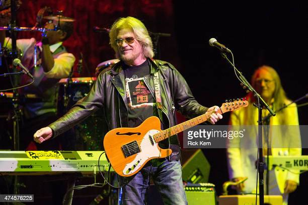 Musician/vocalist Daryl Hall of Hall Oates performs in concert at ACL Live on February 23 2014 in Austin Texas