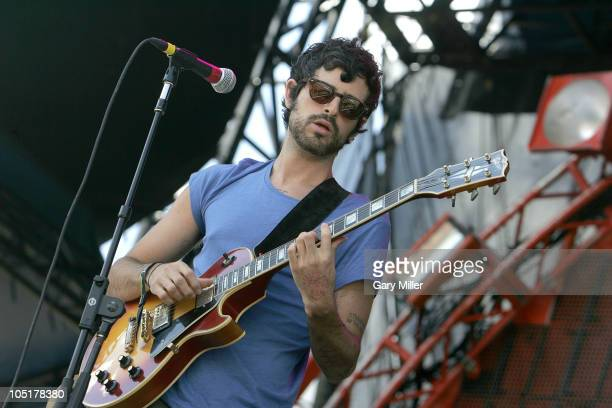 Musician/vocalist Devendra Banhart performs in concert with The Grogs during day 3 of the Austin City Limits Music Festival at Zilker Park on October...