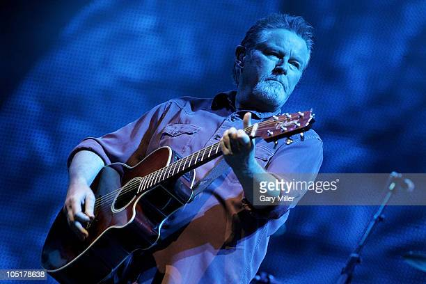 Musician/vocalist Don Henley performs in concert with The Eagles during day 3 of the Austin City Limits Music Festival at Zilker Park on October 10,...
